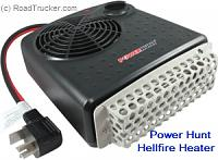power hunt quartz heater - great for camping