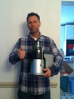 Me and my juicer.