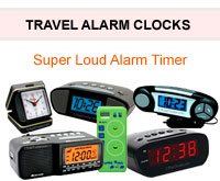 12 Volt Alarm Clocks