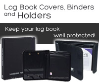 Log Book Covers, Binders and Holders