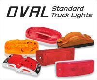 Oval Standard Truck Lights