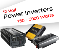 12 Volt Power Inverters