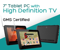 "RCA 7"" Tablet PC with High Definition TV"