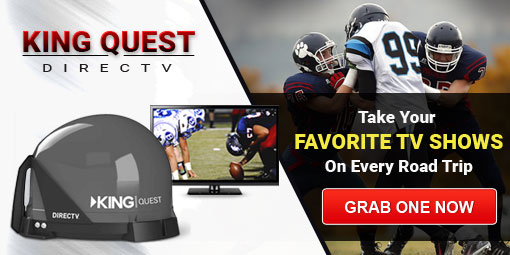 King Quest Satellite TV Antenna
