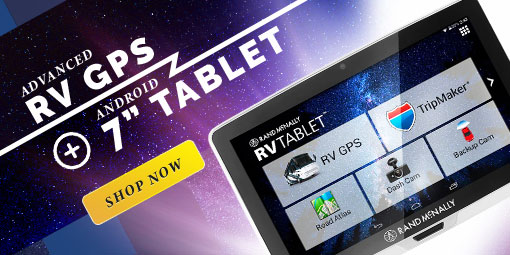 Rand McNally RV Tablet 70