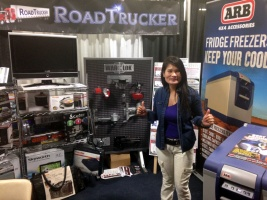 RoadTrucker's Diplay at 2014 Mid America Truck Show