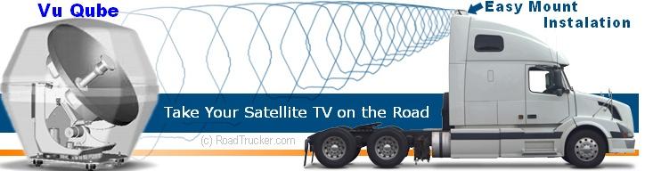 King / VuQube Satellite TV Antenna Technical Information