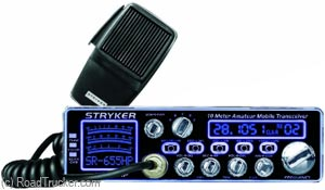 Stryker 80-90 Watt 10 Meter Radio 7 Color FacePlate SR655HPC