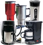 RoadPro - 12 Volt Quick Cup Coffee Maker - RPSC784