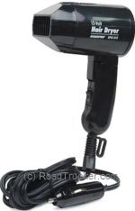 RoadPro - 12-Volt-Hair-Dryer-With-Folding-Handle - RPSC-818