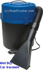RoadPro - 12 Volt Wet Dry Canister Vacuum - RPSC-807