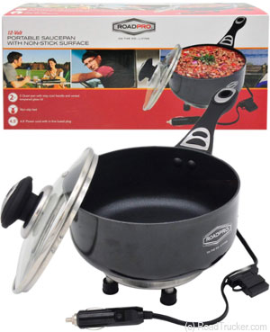 Other Photo of 12-Volt Portable Saucepan with Non-Stick Surface