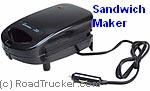 RoadPro - 12-Volt Sandwich Maker - RPDF-168