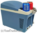 RoadPro 12 Volt 7 Liter Cooler Warmer Cup Holders