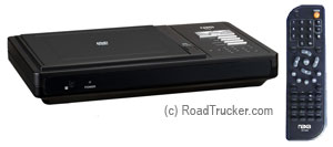 Naxa - Compact DVD Player with Car Package - ND842