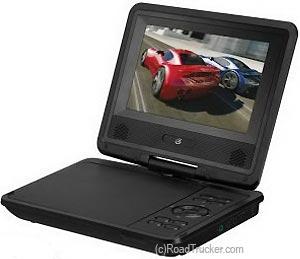 gpx portable vdc vac dvd player remote