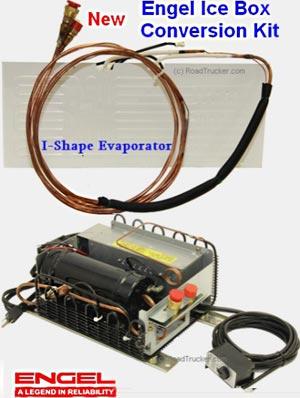 Engel 12v Ice Box Conversion Kits I Shape Evaporator