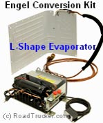 Engel 12 Volt Refrigerator Conversion Kits L shape Evaporator