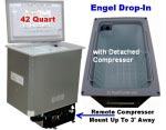 Engel Drop In Counter Top ACDC Refrigerator Freezer Detached Compressor