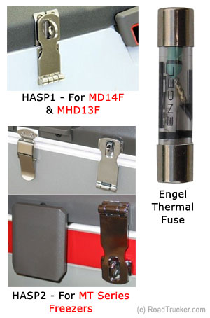 Miscellaneous Engel Accessories: HASP1, HASP2 & Thermal Fuse
