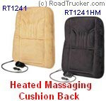 12V Heated Massage Seats at RoadTrucker com
