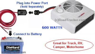 High Performance 12 Volt 600 Watt Heater W Port Diagram Pnp 201