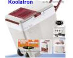 Koolatron Rechargeable 12 Volt 33 Quart Cooler with Wheels