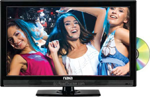 "24"" NAXA HD 12 Volt LED TV/DVD NTD2452"