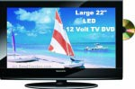 "22"" (21.6"") Skyworth LED 12 Volt TV DVD Combo SLC2219A"