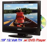 "19"" JENSEN 12 Volt LED TV/DVD Combo JE1911DVDC"