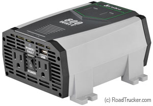 Cobra 800-1600 Watt DC to AC Power Inverter USB CPI890