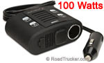 MobileSpec 100 Watt DC to AC Inverter USB & 12-Volt Port MS100W