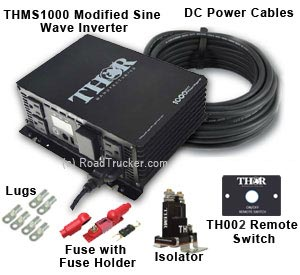 Thor - THMS1000 Power Inverter Kits