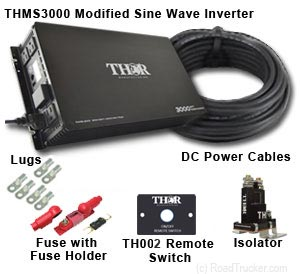 Thor - THMS3000 Power Inverter Kits
