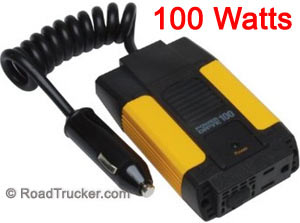 PowerDrive 100 Watt DC to AC Inverter USB Coiled Cord RPPD100