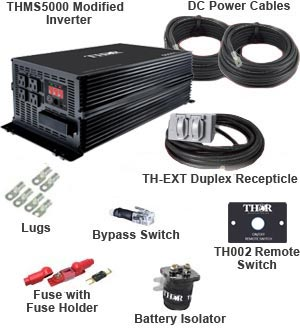 Thor - Pro Kit THMS5000 Modified Power Inverter - THMS5000-PRO-KIT