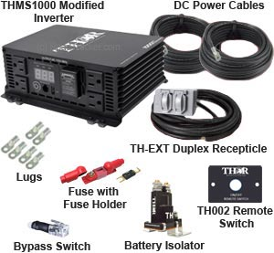 Thor - Pro Kit THMS1000 Modified Power Inverter - THMS1000-PRO-KIT