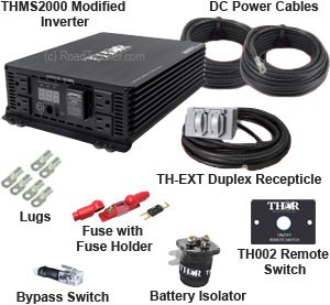 Thor - Pro Kit THMS2000 Modified Power Inverter - THMS2000-PRO-KIT