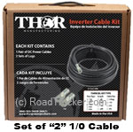 Thor (Set of 2) 1/0 Cable