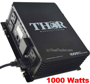Thor 1000 Watt 12 Volt Modified Sine Wave Power Inverter THMS1000