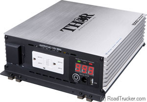 Thor 1000 Watt 12 Volt Pure Sine Wave Power Inverter THPW1000
