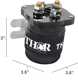 Thor Battery Isolator Dimensions