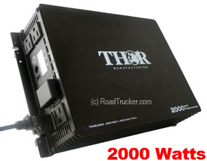Thor 2000 Watt 12 Volt Modified Sine Wave Power Inverter THMS2000