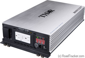 Thor 2000 Watt 12 Volt Pure Sine Wave Power Inverter THPW2000