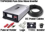 THPW2000 - Professional Grade Thor Pure Inverter Kit