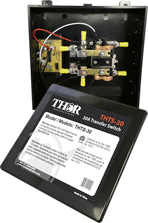 Thor - 30 Amp Transfer Switch - THTS-30