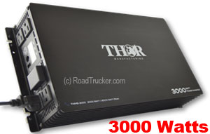 Thor 3000 Watt 12 Volt Modified Sine Wave Power Inverter THMS3000