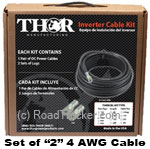 Thor (Set of 2) 4 Awg Cable