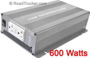 Thor 600 Watt 12 Volt Pure Sine Wave Power Inverter THPS600