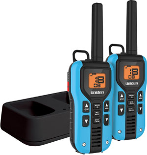 Cobra 23 Mile GMRS/FRS NOAA 2-Way Radios CXT390